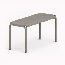 Model M Bench, Metallic Grey