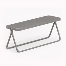 Model X Bench, Metallic Grey