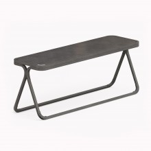 Model X Bench, Raw Steel