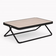 Model X Low table, Matte Black