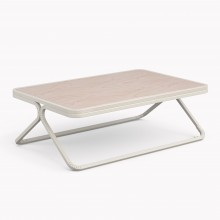 Model X Low table, Matte White