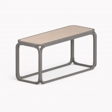 Model O Bench, Metallic Grey
