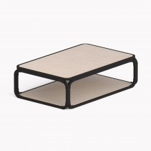 Model O Low table, Matte Black