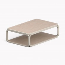 Model O Low table, Matte White