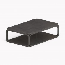 Model O Low table, Raw Steel